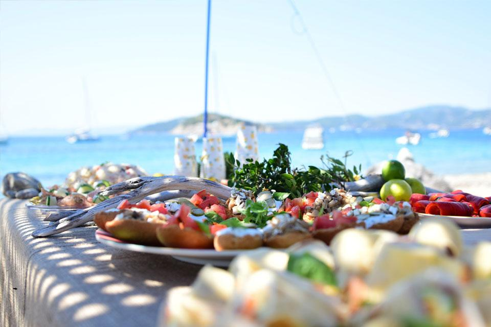 CTS Family Sailing Holidays Greece food