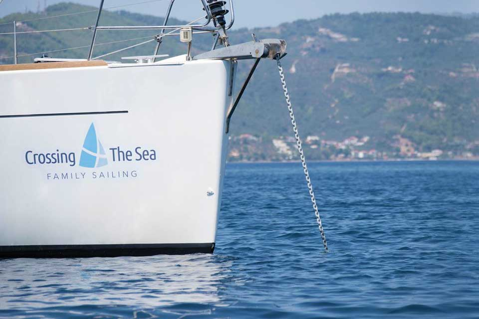 CTS Family Sailing Holidays Greece Yacht Bow